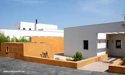 Casas modernas contemporáneas del Mediterráneo