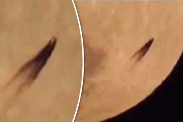 La extraña imagen captada en la Luna