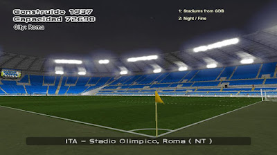 PES 6 Serie A TIM Stadium HD Collection 2017/2018
