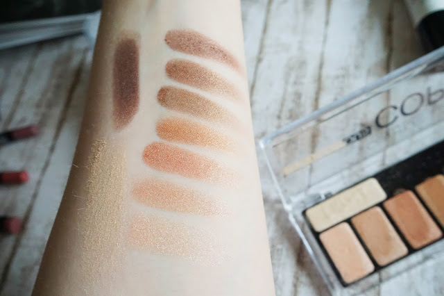 Catrice The Precious Copper Cellection Eyeshadow Palette in 010 Metallux Swatch