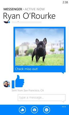 Download Facebook Messenger 11.0.1.0 XAP For Windows Phone