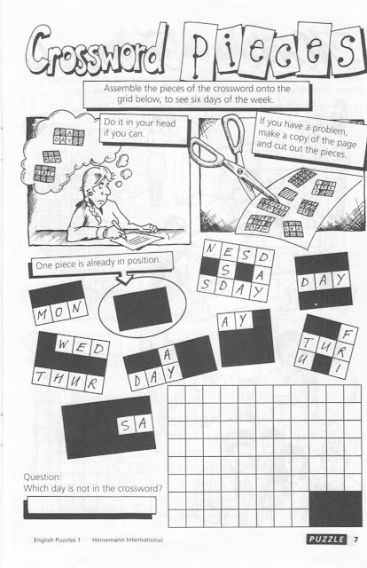 English Puzzle and Game