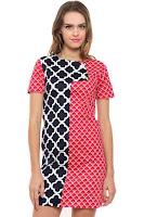 Alfacart Mini Dress Batik Red Lucky Sunday ANDHIMIND