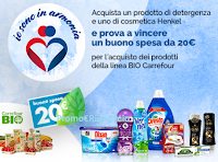Logo ''Io sono in armonia 2018'': vinci buoni spesa Carrefour da 20€