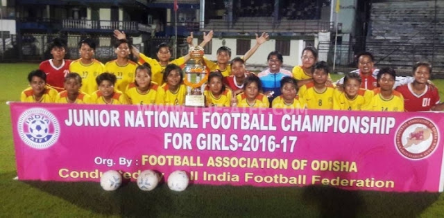 Junior National Football Championship for Girls 2016-17 Finals