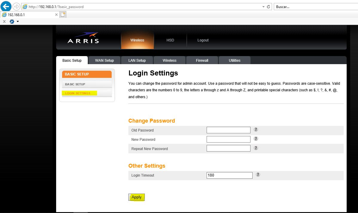 PcNoProblema: Cambiar clave/contraseña de accesso Router