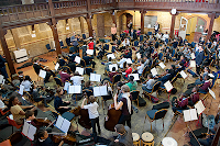 Stockwell Children's Orchestra in rehearsal, photo Reynaldo Trombetta