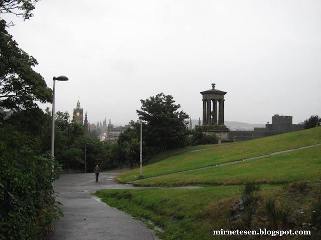 Колтон Хилл в дождливую погоду
