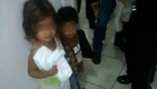 Localizan a 3 niños en aparente abandono dentro de vivienda en Aguascalientes