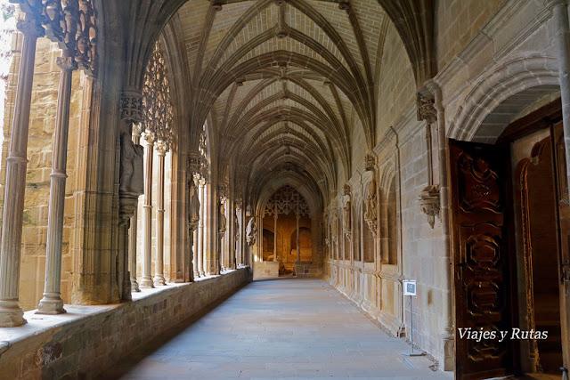 Claustro del Monasterio de Santa María la Real de Nájera