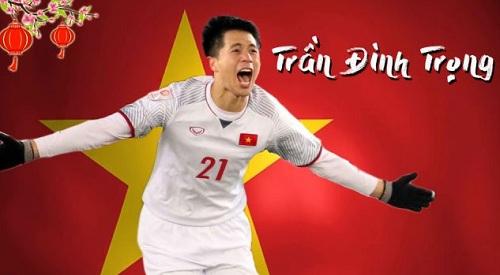 Trần Đình Trọng được triệu tập lên U23 đá VCK U23 Châu Á.