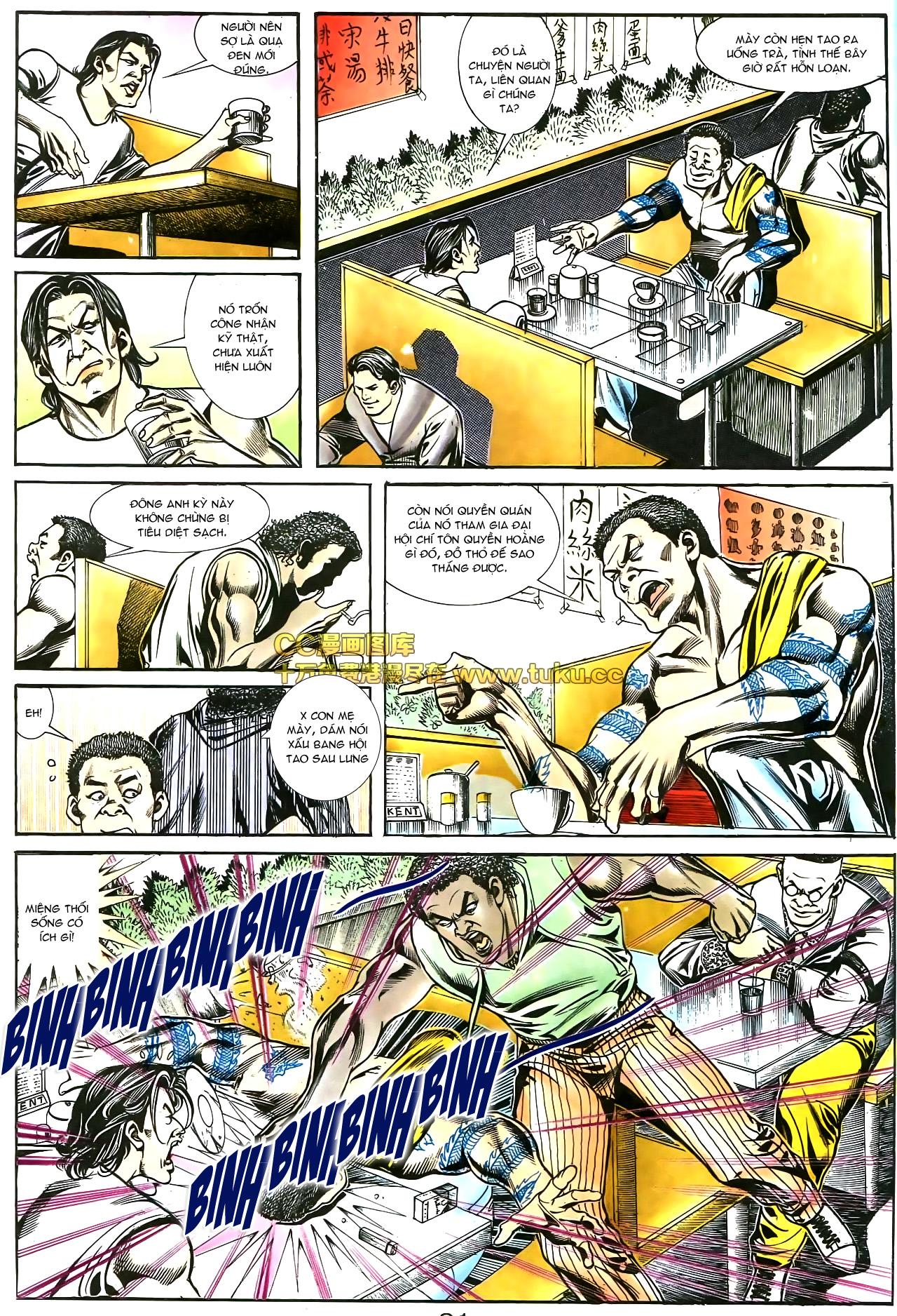 Người Trong Giang Hồ chapter 178: bối cảnh quạ đen trang 18