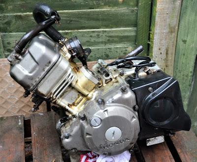 Honda CBR 125 R Engine post