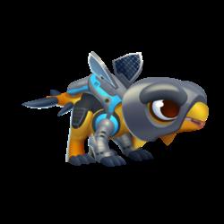 Solar-Powered Dragon (Baby)