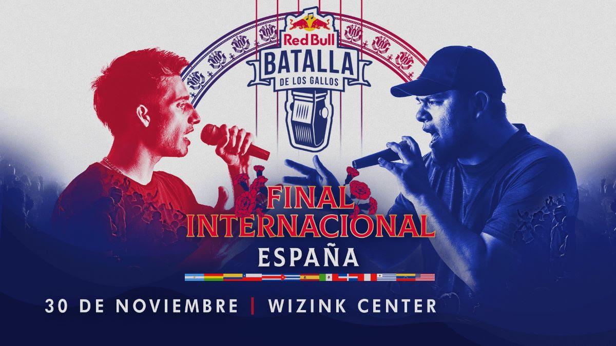 FINAL INTERNACIONAL RED BULL BATALLA DE LOS GALLOS - ESPAÑA - 30 NOVIEMBRE