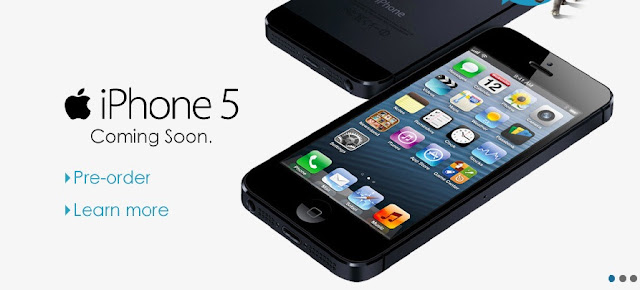 Pre-order your iPhone 5 with just RM200 deposit