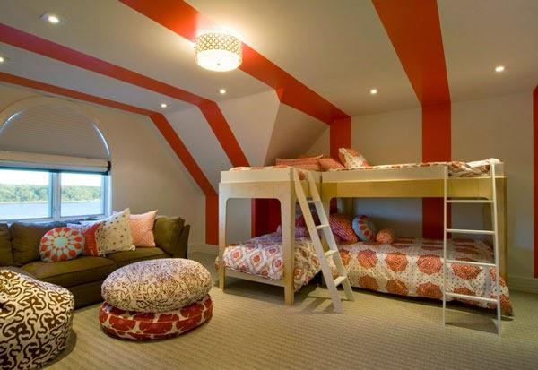 dormitorio para 4 niñas