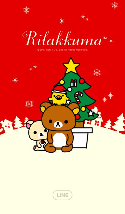 คริสต์มาสของ Rilakkuma