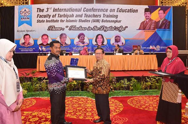 IAIN Batusangkar Sukses Selenggarakan the Third International Seminar on Education (ICoE-3)