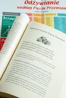 Trochę teorii, w tle kolorowy plakat dołączony do książki