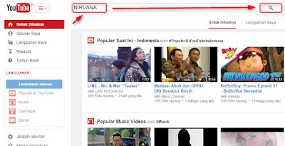Converting video youtube ke mp3 di www.youtube-mp3.org