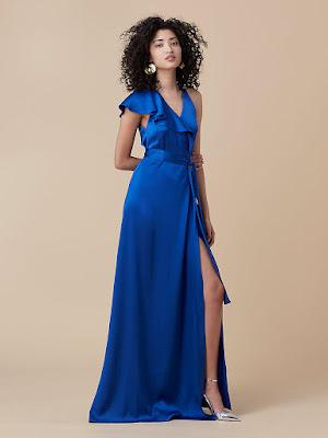 vestidos formales con manga 3 4