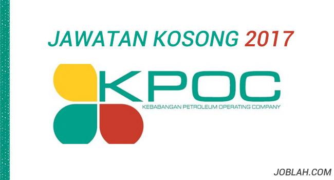 Jawatan Kosong KPOC 2017
