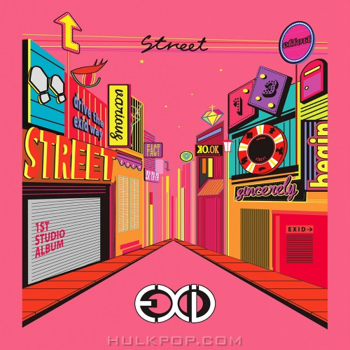 EXID – STREET (FLAC + ITUNES PLUS AAC M4A)
