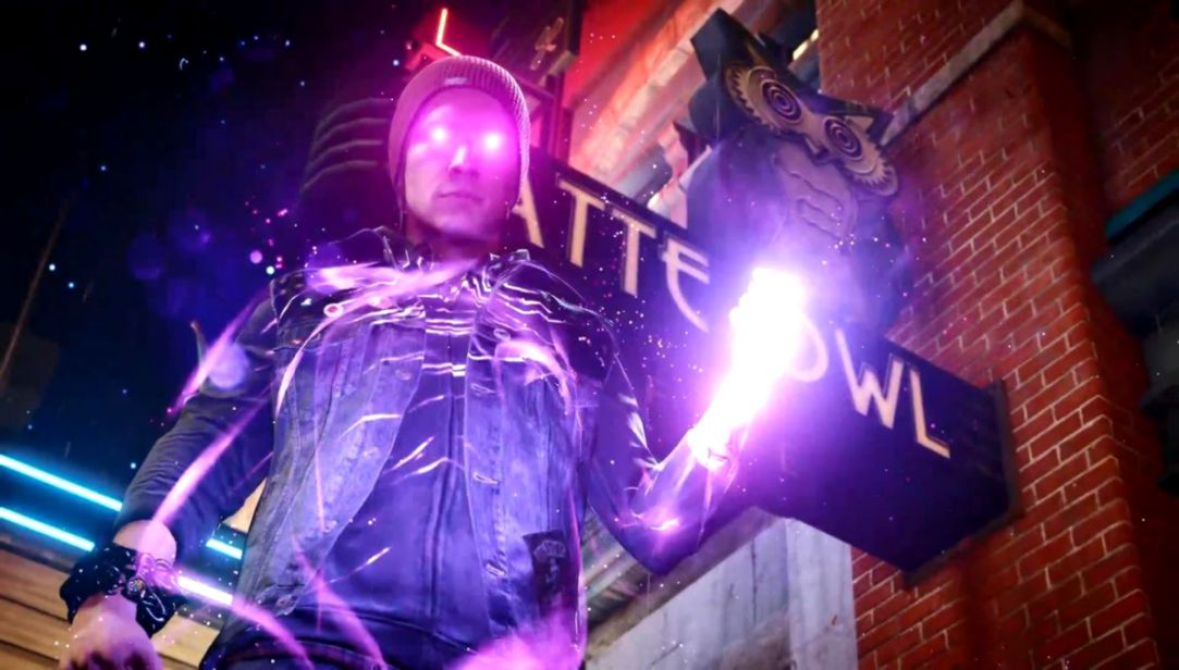 Infamous Second Son Neon Wide Wallpaper Wallpapers Engine
