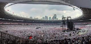 GBK Kampanye Jokowi Hari Ini..Hindari Arah Jalan Senayan GBK