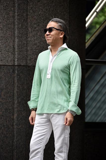 40代メンズ 長袖シャツ パンツ