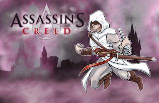 Assassin's Creed: Invitaciones, Fondos o Marcos para Imprimir Gratis.