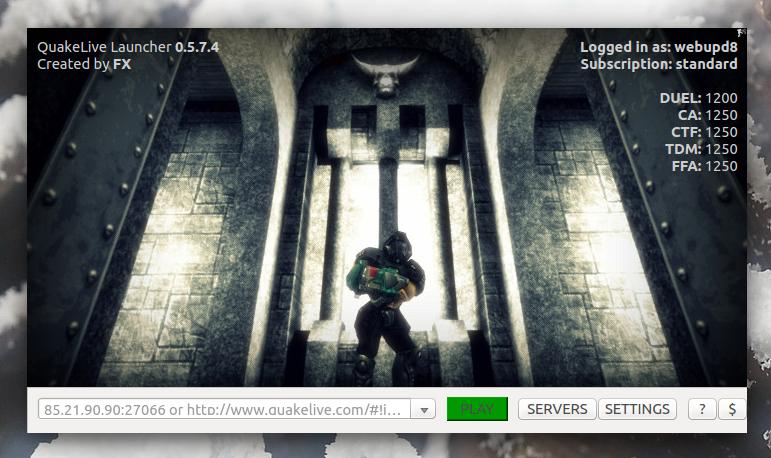 QLLauncher: Quake Live Launcher For Linux ~ Web Upd8: Ubuntu