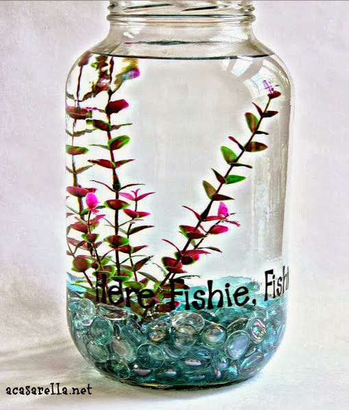 Pickle Jar Fish Bowl