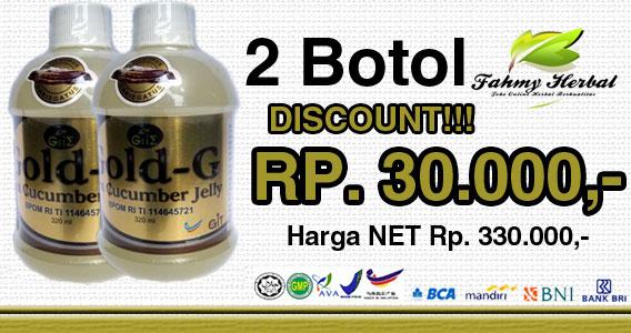 Cara Pesan Obat Herbal Jelly Gamat Gold-G
