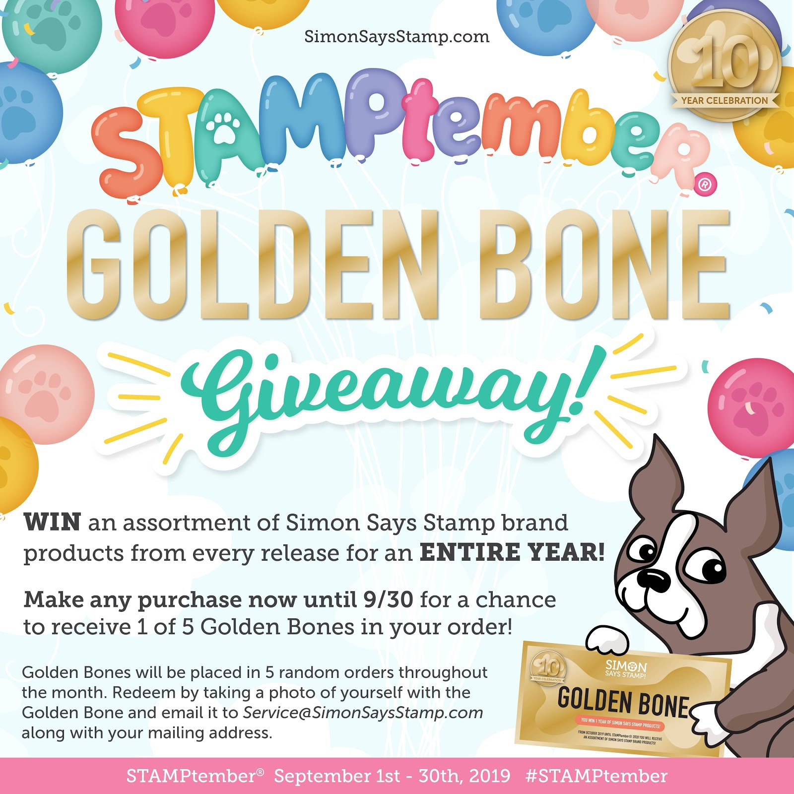 Will YOU win a Golden Bone????