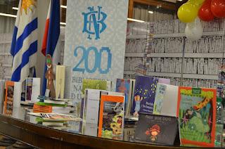 Actividades infantiles en la Biblioteca Nacional del Uruguay.  Narración de cuentos. Raquel Silvetti . Raquel Silvetti