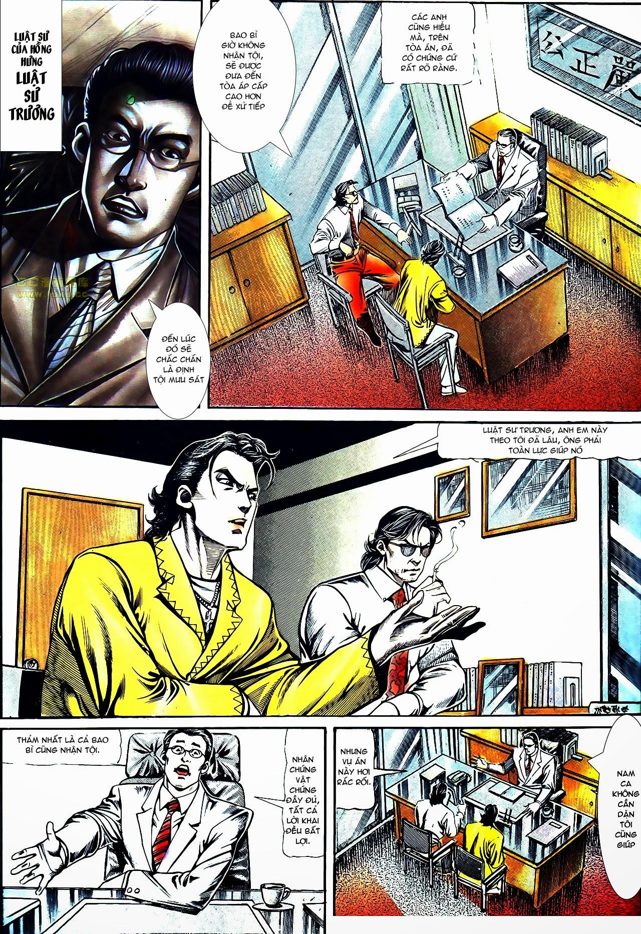 Người Trong Giang Hồ chapter 119: tù chung thân trang 11