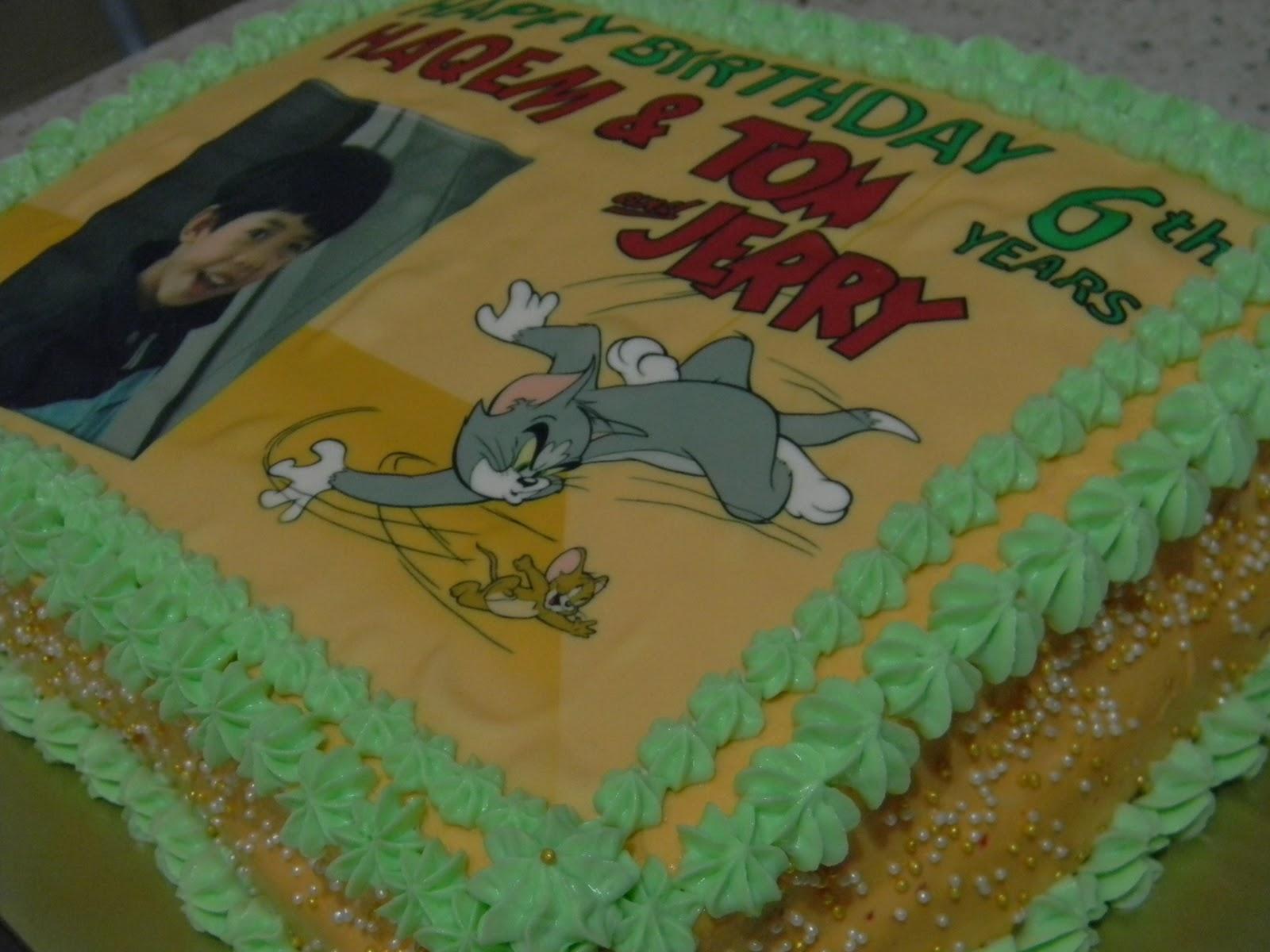 Zatils Cakery Lane Tom and Jerry Birthday Cake