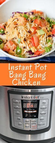 Bang Bang Chicken (Instant Pot)
