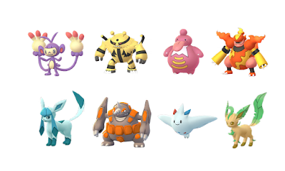 Pokemon Gen 4 Evolutions