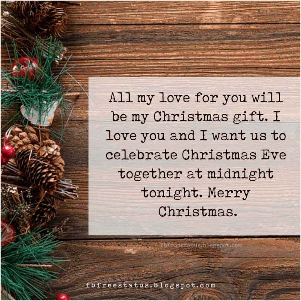 Merry Christmas Wishes Messages, for Boyfriend, Girlfriend, Wife, or Husband.