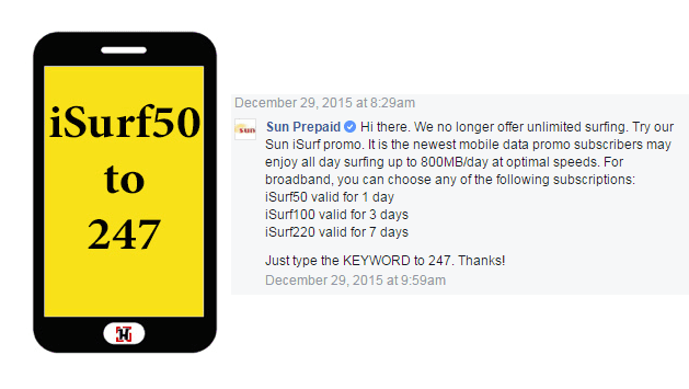 Sun Cellular No Longer Offers Unlisurf – Alternative iSurf Promo