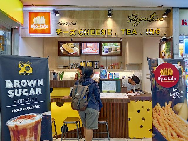 Signature Cheese Tea Inc: Edisi Tanpa Kentang - Part 2