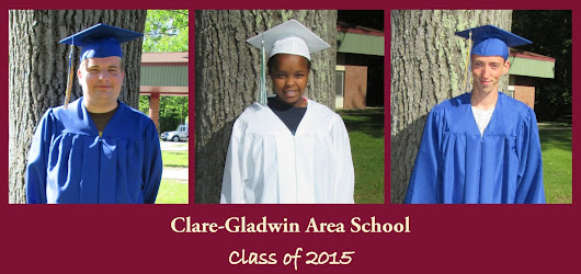 Congratulations to the 2015 Clare-Gladwin Area School Graduates!
