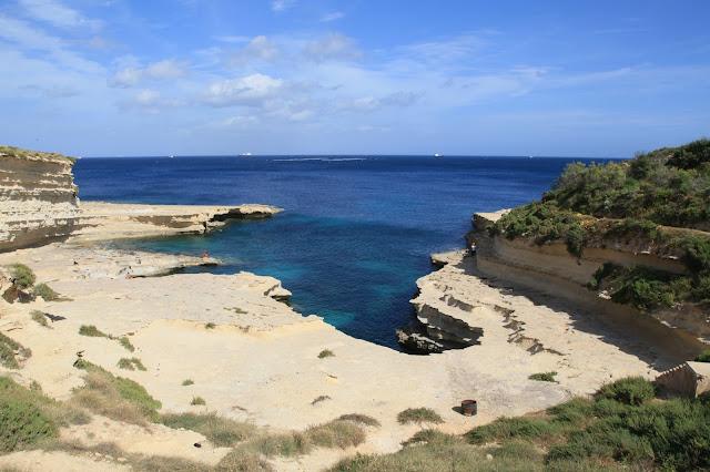 San Peter's Pool, top beach in malta