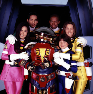 Power Rangers Turbo Cast TJ Cassie Ashley Justin Carlos Alpha 6