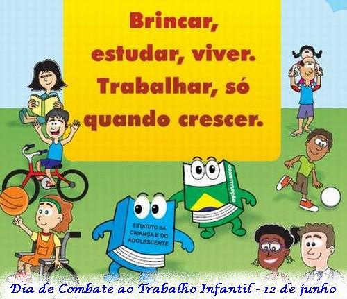 dia de combate ao trabalho infantil 35 desenhos exercÍcios