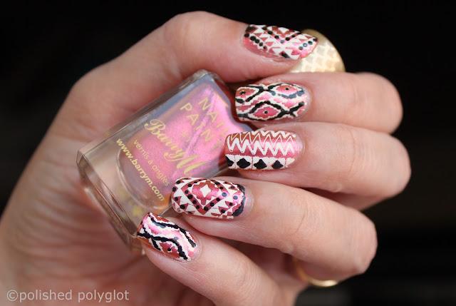Nail art - festival nails