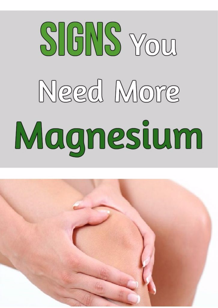 Signs You Need More Magnesium